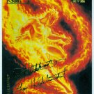 Marvel Masterpieces 1994 #52 Gold Foil Signature Card