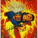 Marvel Masterpieces 1994 #66 Gold Foil Signature Card