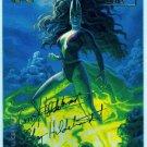 Marvel Masterpieces 1994 #67 Gold Foil Signature Card