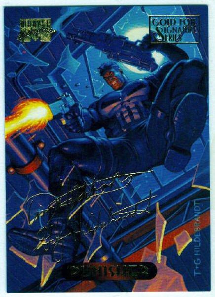 Marvel Masterpieces 1994 #94 Gold Foil Signature Card