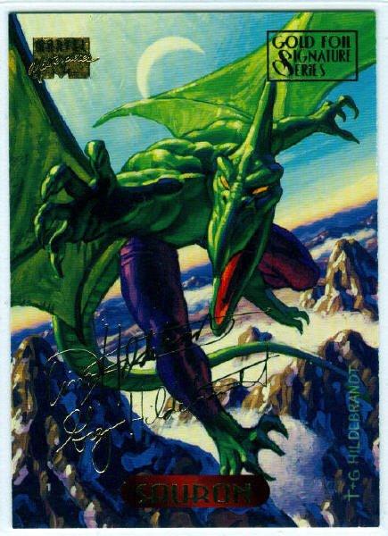 Marvel Masterpieces 1994 #103 Gold Foil Signature Card