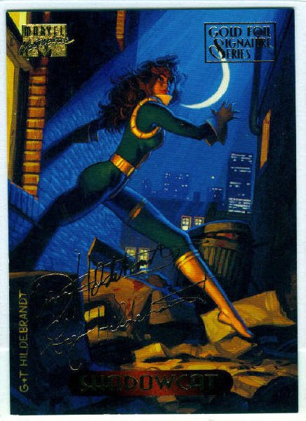 Marvel Masterpieces 1994 #106 Gold Foil Signature Card