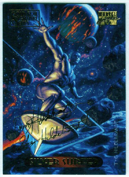 Marvel Masterpieces 1994 #111 Gold Foil Signature Card