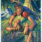 Marvel Masterpieces 1994 #112 Gold Foil Signature Card