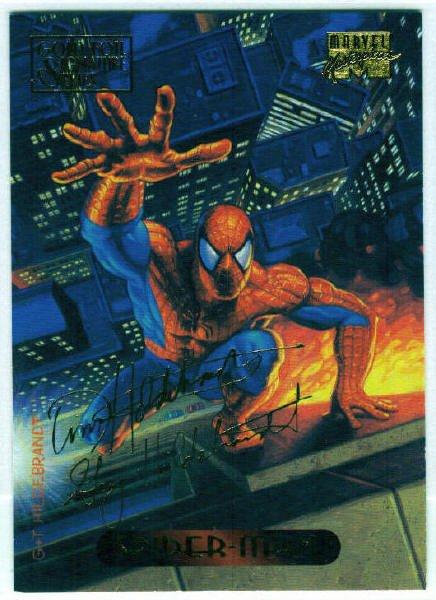 Marvel Masterpieces 1994 #115 Gold Foil Signature Card