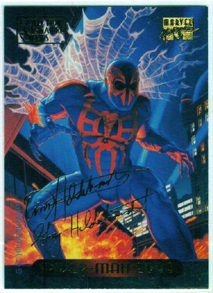 Marvel Masterpieces 1994 #116 Gold Foil Signature Card