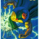 Marvel Masterpieces 1994 #132 Gold Foil Signature Card