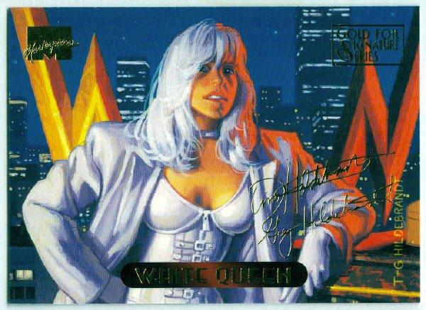 Marvel Masterpieces 1994 #136 Gold Foil Signature Card