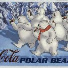 Coca Cola Sign Of Good Taste #PB2 Polar Bear Foil Card