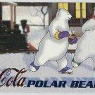 Coca Cola Sign Of Good Taste #PB3 Polar Bear Foil Card
