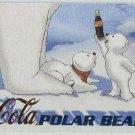 Coca Cola Sign Of Good Taste #PB4 Polar Bear Foil Card
