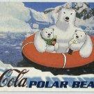 Coca Cola Sign Of Good Taste #PB5 Polar Bear Foil Card