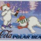 Coca Cola Sign Of Good Taste #PB7 Polar Bear Foil Card