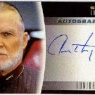 Star Trek Insurrection #A10 Anthony Zerbe Autograph Card