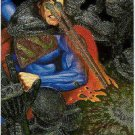Superman Man of Steel #S4 Spectra Etch Collector Card