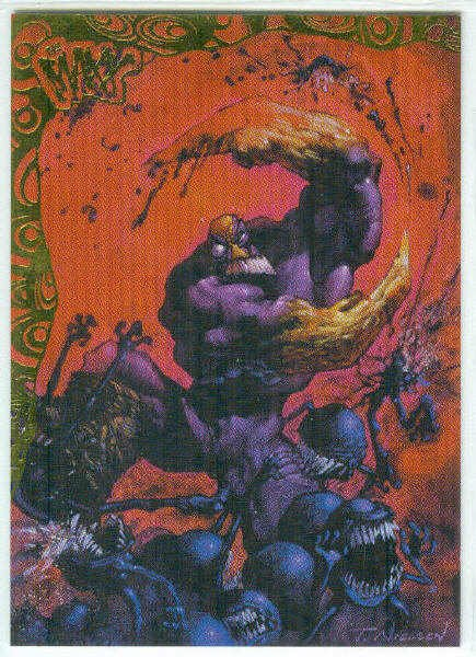 Maxx 1996 Wildstorm #P5 Painted Foil Stamped Chase Card