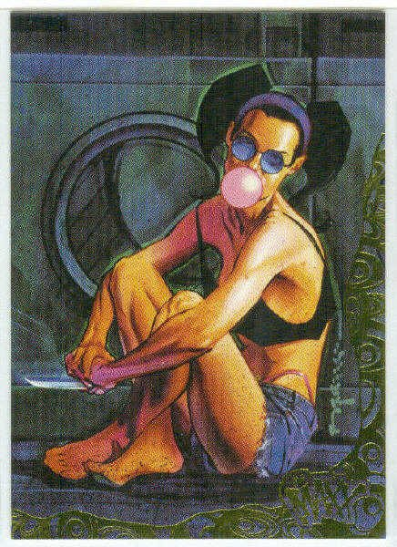 Maxx 1996 Wildstorm #P6 Painted Foil Stamped Chase Card