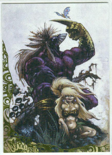 Maxx 1996 Wildstorm #P7 Painted Foil Stamped Chase Card