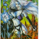 Lady Death Series 1 #4 Holochrome Chase Trading Card