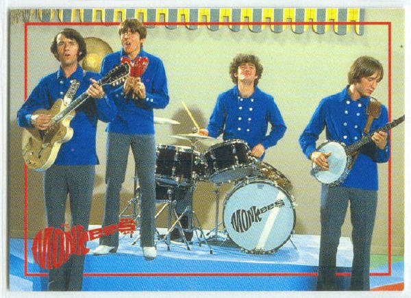 Monkees 1995 Cornerstone #3 Promo Trading Card