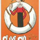 Popeye 1994 #CF2 Character Foil Olive Oyl Chase Card