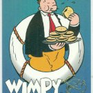 Popeye 1994 #CF4 Character Foil Wimpy Chase Card