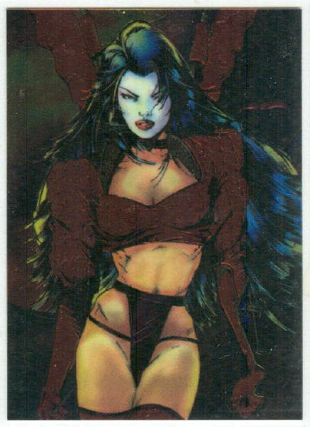 Shi All Chromium Promo Unnumbered Trading Card