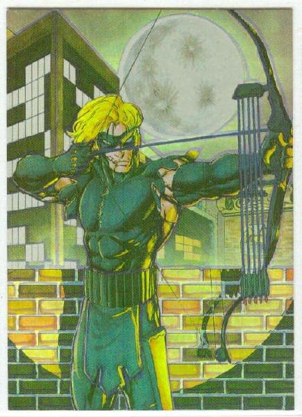 Shi All Chromium #2 Subset The Black Arrow Trading Card