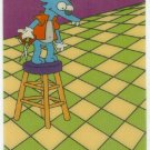 Simpsons Animation Cel Itchy Barber Chase Card