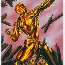 Spider-Man Fleer Ultra #38 Gold Foil Signature Molten Man