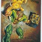 Spider-Man Fleer Ultra #46 Gold Foil Signature Sandman