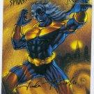 Spider-Man Fleer Ultra #47 Gold Foil Signature Sandstorm