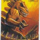 Spider-Man Fleer Ultra #54 Gold Foil Signature Stegorn