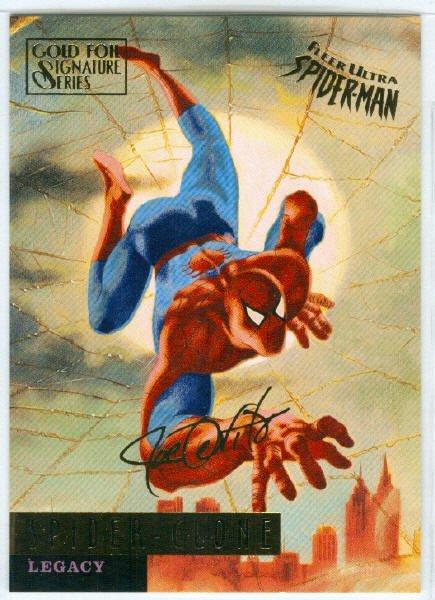 Spider-Man Fleer Ultra #68 Gold Foil Signature Spider-Clone