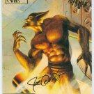 Spider-Man Fleer Ultra #69 Gold Foil Signature Jackal