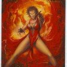 Spider-Man Fleer Ultra #126 Gold Foil Signature Scarlet Witch