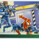 Spider-Man Fleer Ultra #130 Gold Foil Signature The Jury