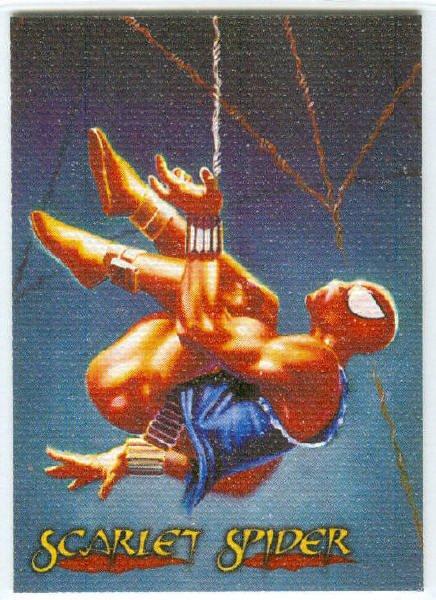 Spider-Man Premium Canvas #4 Chase Card Scarlet Spider