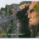 Star Trek Phase 1 #D1 Die Cut Chase Card Klingon Knife