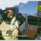 Star Trek Phase 1 #D3 Die Cut Chase Card Disruptor