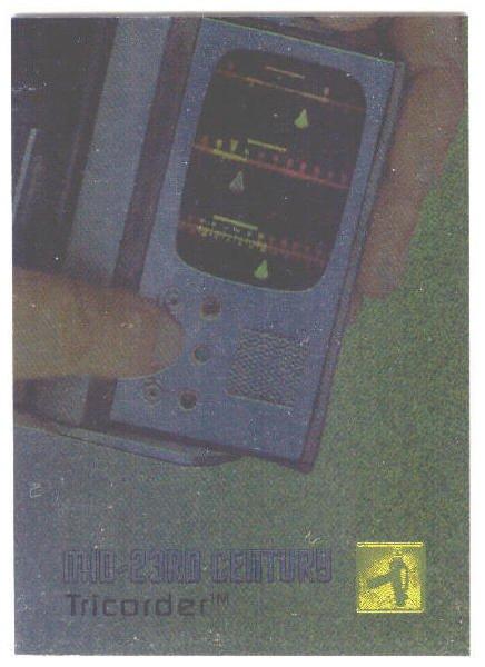 Star Trek Phase 1 #E7 Gold Foil Chase Card Tricorder