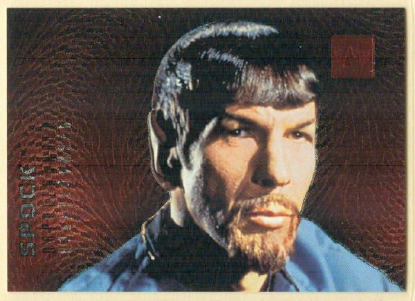 Star Trek Phase 2 #F2 Doppleganger Chase Card Spock
