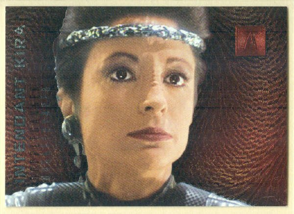 Star Trek Phase 2 #F7 Doppleganger Chase Card Kira