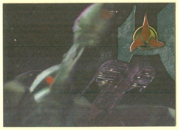 Star Trek TNG Season 6 #S33 Foil Chase Trading Card