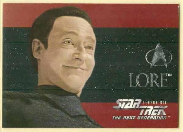 Star Trek TNG Season 6 #S36 Foil Chase Trading Card