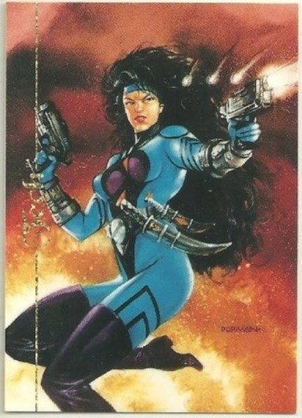 Ultraverse 1994 Series 2 #B7 Foil Card Tech