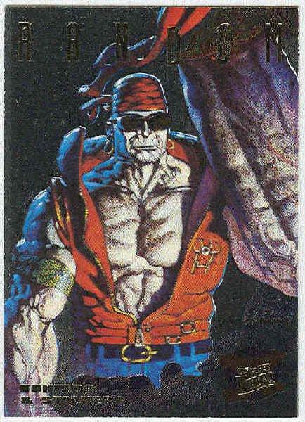 X-Men 95 Ultra #4 Silver Foil Powerblast Card Random