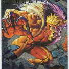 X-Men 95 Ultra #6 Silver Foil Powerblast Card Sabretooth