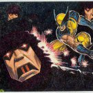 X-Men 94 Ultra #4 Greatest Battles Foil Card Wolverine vs Sentinels
