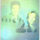 X-Files Season 2 1996 #X1 Hologram Card Mulder & Scully